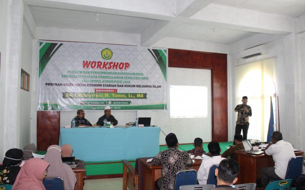 STIS Ummul Ayman gelar Workshop Review Kurikulum
